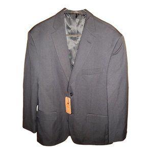 Haggar Navy Blue Suit Jacket Blazer 42S